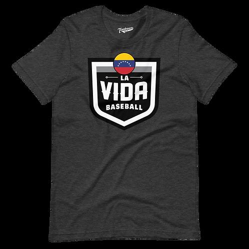 VENEZUELA La Vida Baseball Country Crest - Unisex T-Shirt