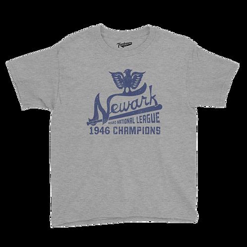 1946 Champions - Newark Eagles - Kids T-Shirt