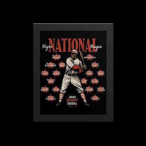 Negro National League - Giclée-Print Framed