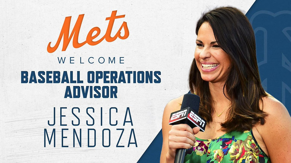 Jessica Mendoza joins the Mets