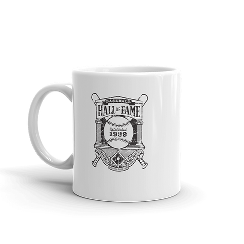 Baseball Hall of Fame - Crest Logo 11oz Mug