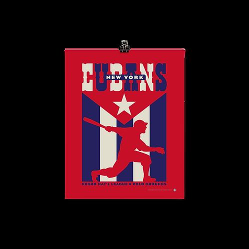 NNL New York Cubans by Gary Cieradkowski - Matte Paper Giclée