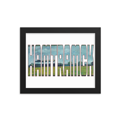 Hamtramck Stadium by Andy Brown - Giclée-Print Framed