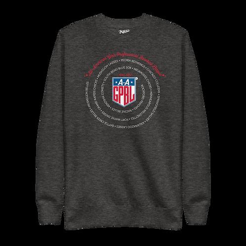 AAGPBL League - Unisex Fleece Pullover Crewneck