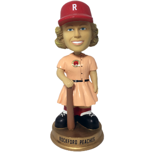 Rockford Peaches AAGPBL Vintage Bobbleheads (PRESALE)