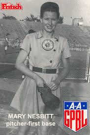 Mary Nesbitt - AAGPBL Original