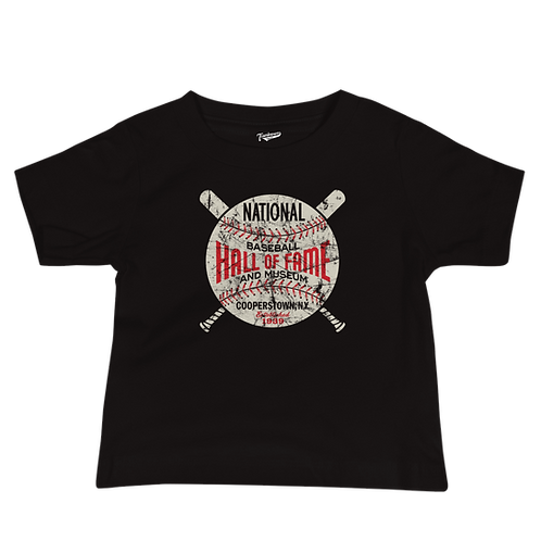 Baseball Hall of Fame Circle Logo - Infant & Toddler T-Shirt