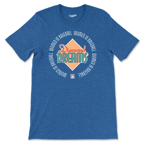 Diamond Dreams - Women In Baseball - Unisex T-Shirt