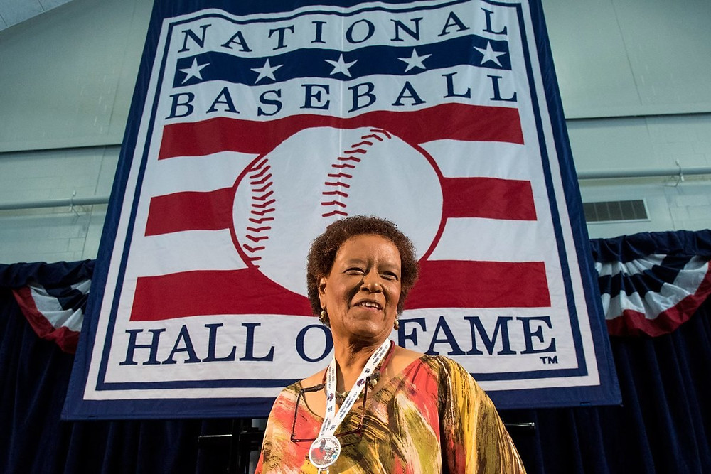 Claire Smith – 1st Women elected to Baseball Hall of Fame as J.G. Taylor Spink award winner.