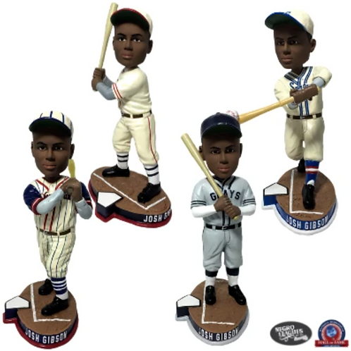Josh Gibson Set of 4 Bobbleheads
