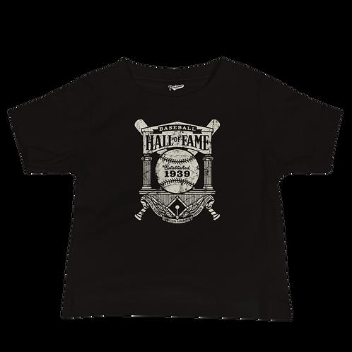 Baseball Hall of Fame Crest Logo - Infant & Toddler T-Shirt