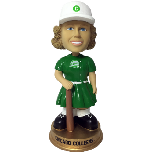 Chicago Colleens AAGPBL Vintage Bobbleheads