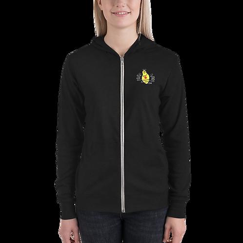 BumbleBee Foundation - Unisex Lightweight Zip Hoodie