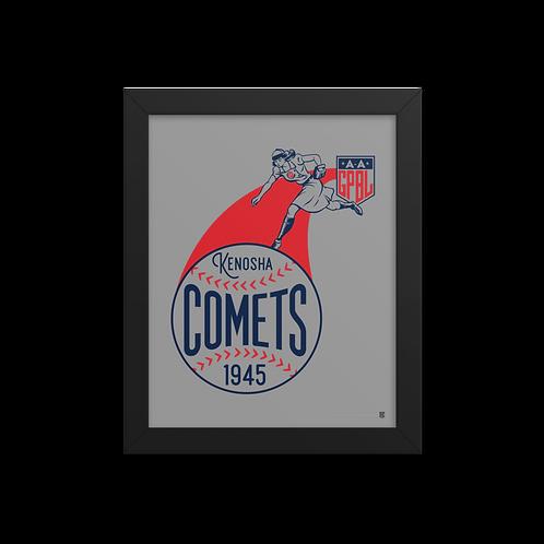 WOTD Kenosha Comets by Gary Cieradkowski - Giclée-Print Framed