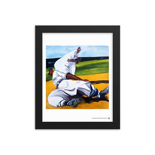 Cuban Slide by Dane Tilghman - Giclée-Print Framed