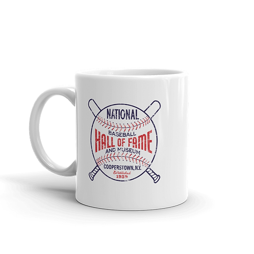 Baseball Hall of Fame - Circle Logo 11oz Mug
