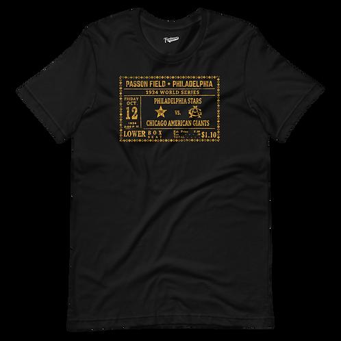 1934 NLB World Series - Unisex T-Shirt