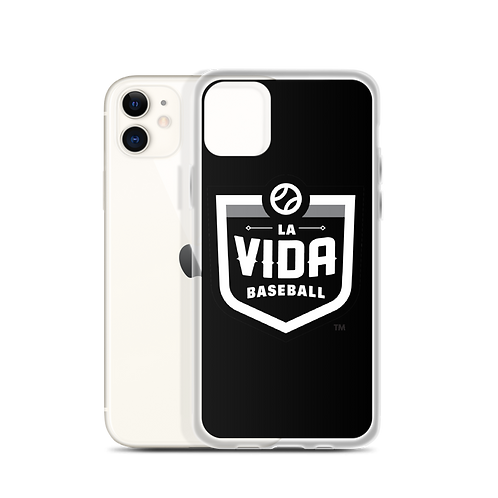 La Vida Baseball -Logo iPhone Case