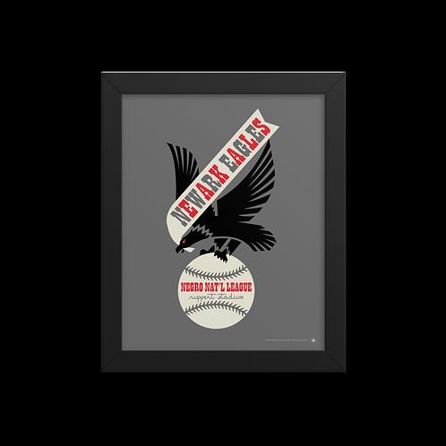 NNL Newark Eagles by Gary Cieradkowski - Giclée-Print Framed