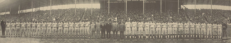 1924 World Series Teams – Kansas City and Hilldale