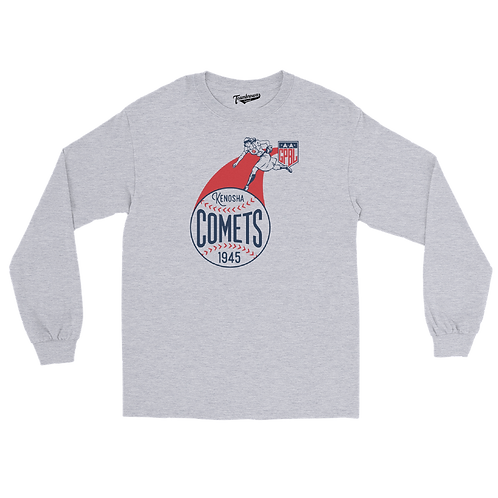 Diamond - Kenosha Comets - Unisex Long Sleeve Crew T-Shirt
