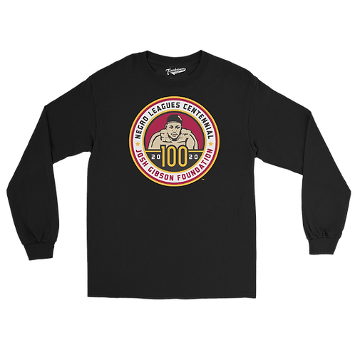 Josh Gibson Foundation 2020 - Unisex Long Sleeve Crew T-Shirt
