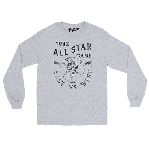 1933 East vs West All Star Game - Unisex Long Sleeve