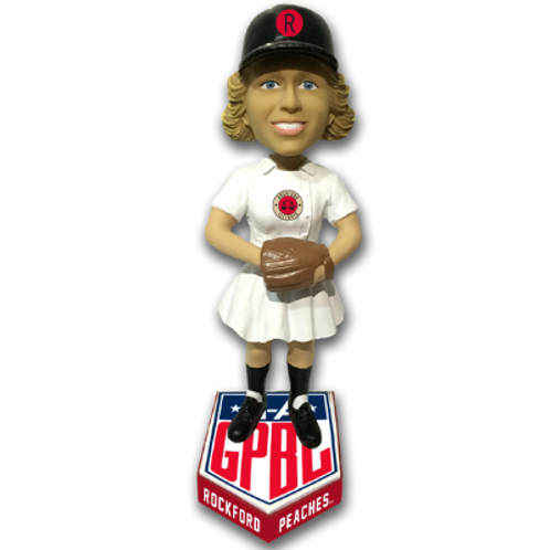 Rockford Peaches - AAGPBL Bobblehead