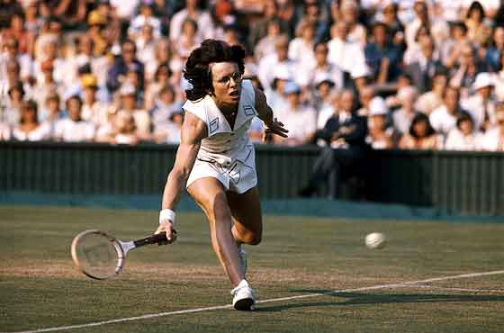 Billie Jean King – Winner of 39 Grand Slam titles