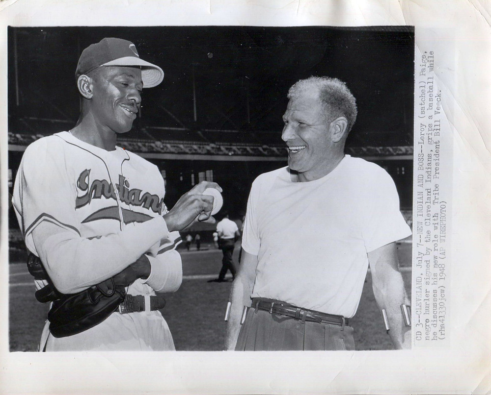 Satchel Paige and Bill Veeck