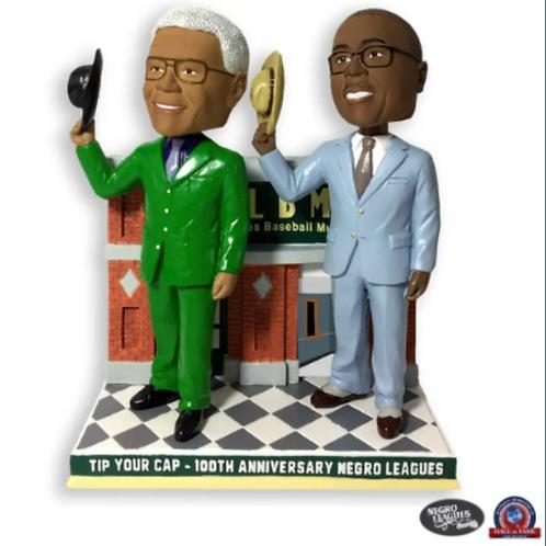 Tip Your Cap - Centennial Buck O'Neil and Bob Kendrick Bobblehead