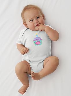 Cupcake Birthday - Infant Onesie (Wholesale)
