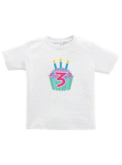 Cupcake 3rd Birthday - Toddler T-Shirt