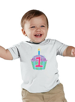 Cupcake 1st Birthday - Toddler T-Shirt