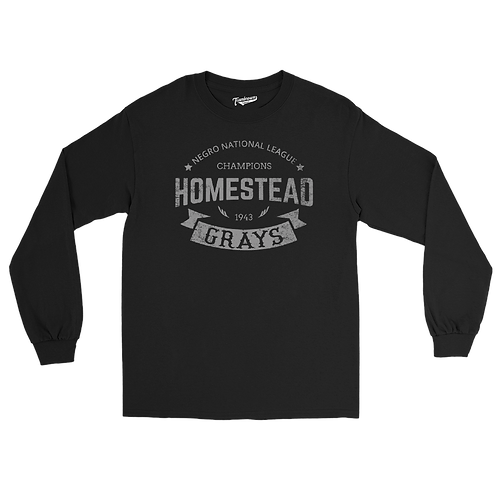 1943 Champions - Homestead Grays / Forbes Field - Unisex Long Sleeve