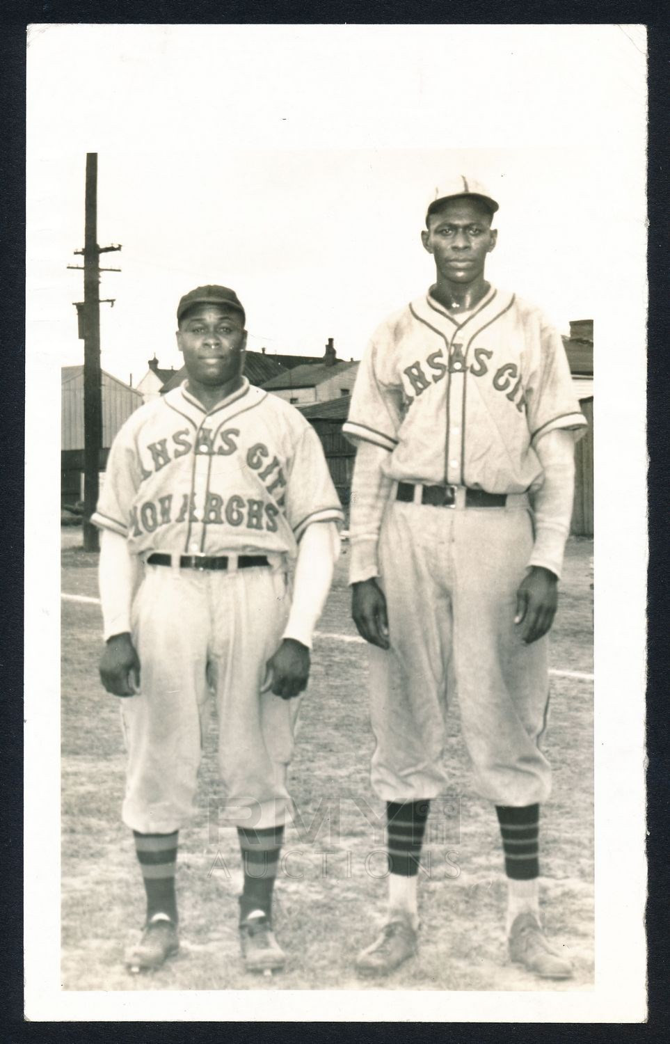 Satchel Paige on the Kansas City Monarchs