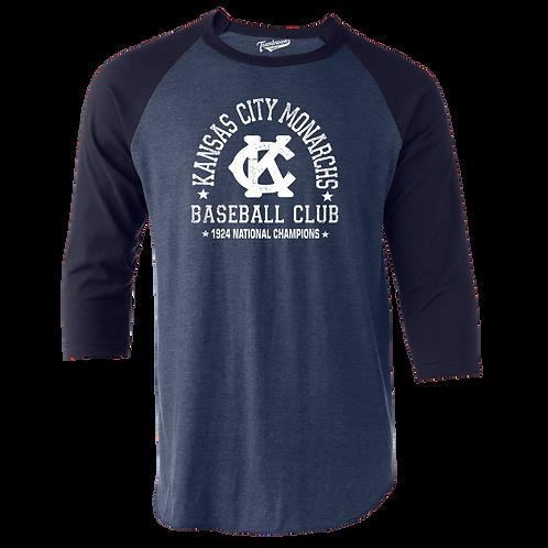 1924 Champions - Kansas City Monarchs - Unisex Baseball Shirt