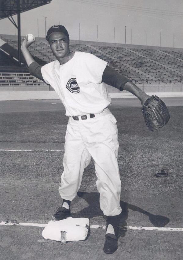 Chuck Harmon – Cincinnati Reds