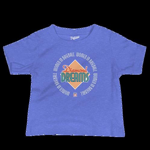 Diamond Dreams - Women In Baseball - Infant & Toddler T-Shirt