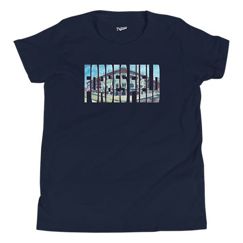 Forbes Field by Andy Brown - Kids T-Shirt