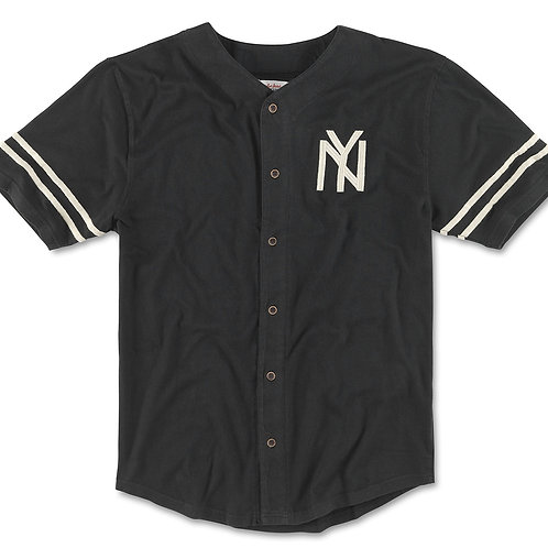 American Needle - Archive - New York Black Yankees Jersey Tee