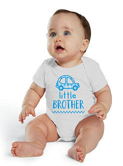 Little Brother Car - Infant Onesie