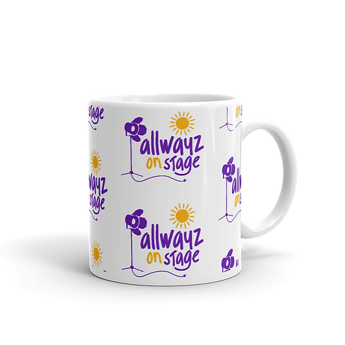 ALLWAYZ ON STAGE - Multi Logo - 11oz Mug