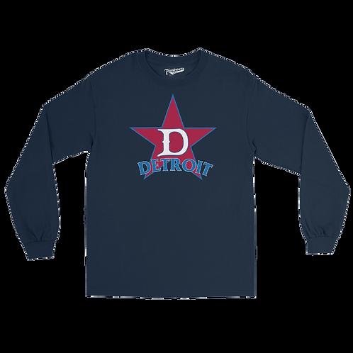 Detroit Stars Unisex Long Sleeve Crew T-Shirt