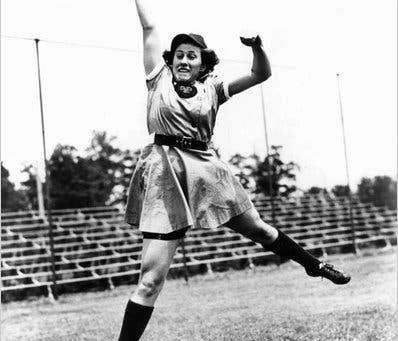 #Spotlight - Women's History Month - Dottie Kamenshek