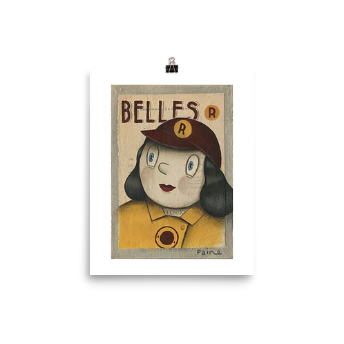 Racine Belles - By Paine Proffitt - Matte Paper Giclée