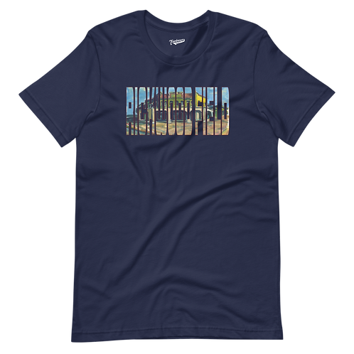 Rickwood Field by Andy Brown - Unisex T-Shirt