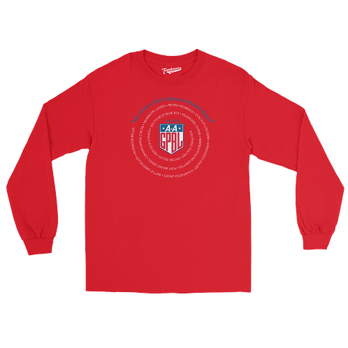 AAGPBL League - Unisex Long Sleeve Crew T-Shirt