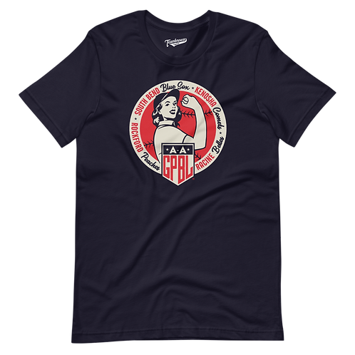 Diamond - AAGPBL Original 4- Unisex T-Shirt