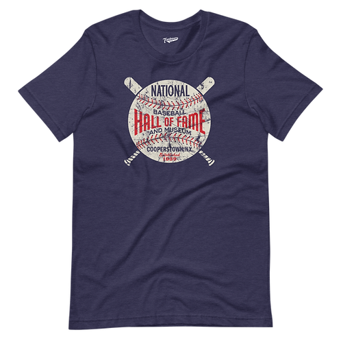 Baseball Hall of Fame - Circle Logo - Unisex T-Shirt